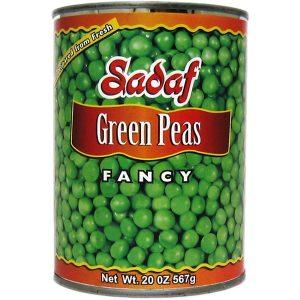 Sadaf Green Peas 20 oz.