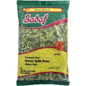 Sadaf Green Split Peas 24 oz.