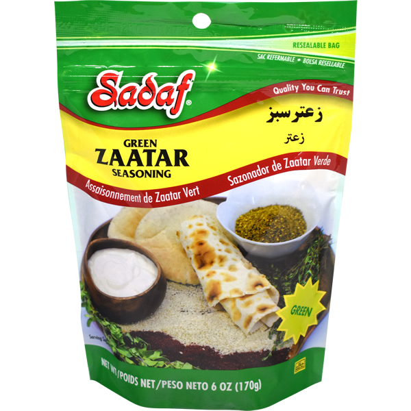 Sadaf Green Zaatar Mix 6 oz.