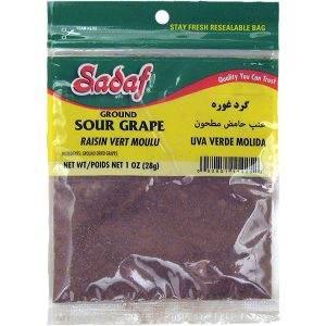 Sadaf Ground Sour Grape 1 oz.