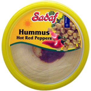 Sadaf Hummus Hot Red Pepper 10 oz.