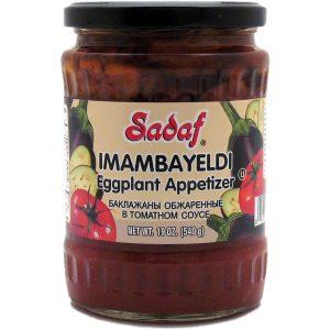 Sadaf Imambayeldi Eggplant Appetizer 19 oz.
