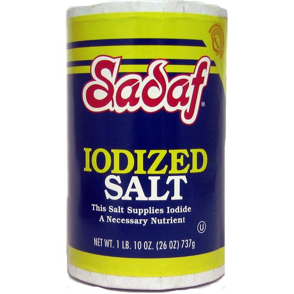 Sadaf Iodized Salt 26 oz.