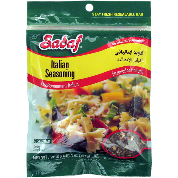 Sadaf Italian Seasoning 1 oz.