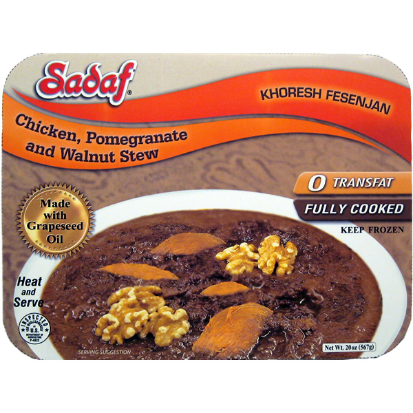 Sadaf Khoresh Fesenjan Stew with Chicken 20 oz.