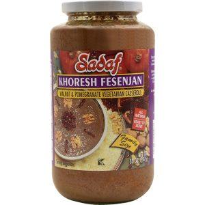 Sadaf Khoresh Fesenjan - Walnut & Pomegranate 32 oz.