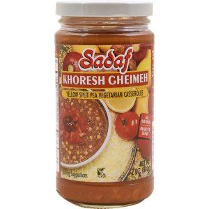 Sadaf Khoresh Gheimeh Yellow Split Pea casserole 12 oz.