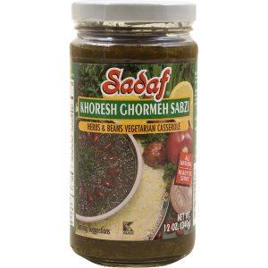 Sadaf Khoresh Ghormeh Sabzi Herbs & Beans Casserole 12 oz.