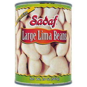 Sadaf Large Lima Beans 20 oz.
