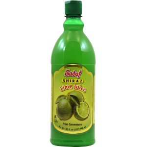 Sadaf Lime Juice from Concentrate - Shiraz 32 oz.