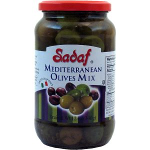 Sadaf Mediterranean Olives Mix 12 oz.