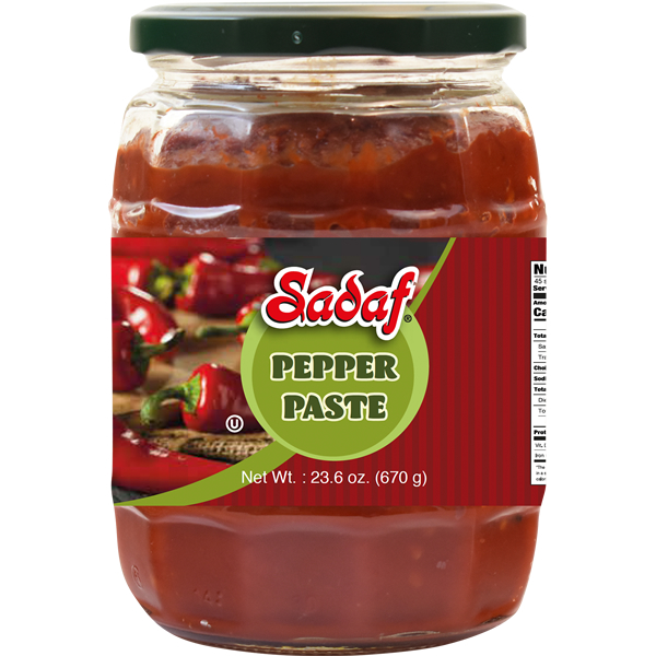 Sadaf Mild Pepper Paste 23.6 oz.