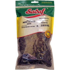 Sadaf Mint Leaves Whole 2 oz.