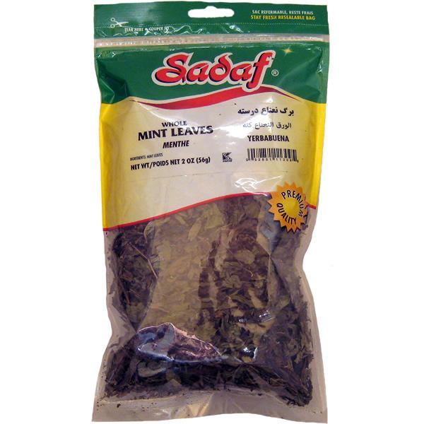 Sadaf Mint Leaves Whole 2 oz.