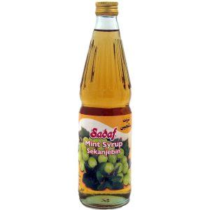 Sadaf Mint Syrup (Sekanjebin) 17 oz