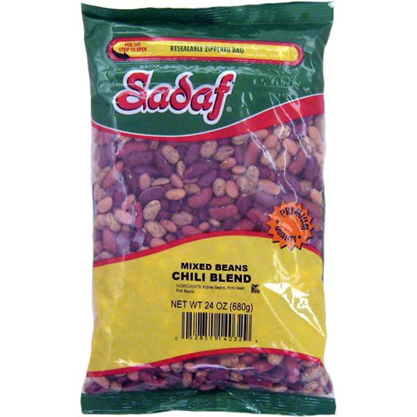 Sadaf Mixed Beans - Chili Blend 24 oz.
