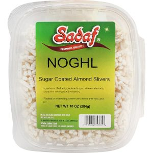 Sadaf Noghl - Sugar Coated Almonds Slivers 10 oz.