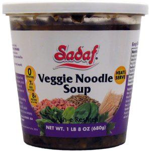 Sadaf Noodle Vegi Soup 24 oz.