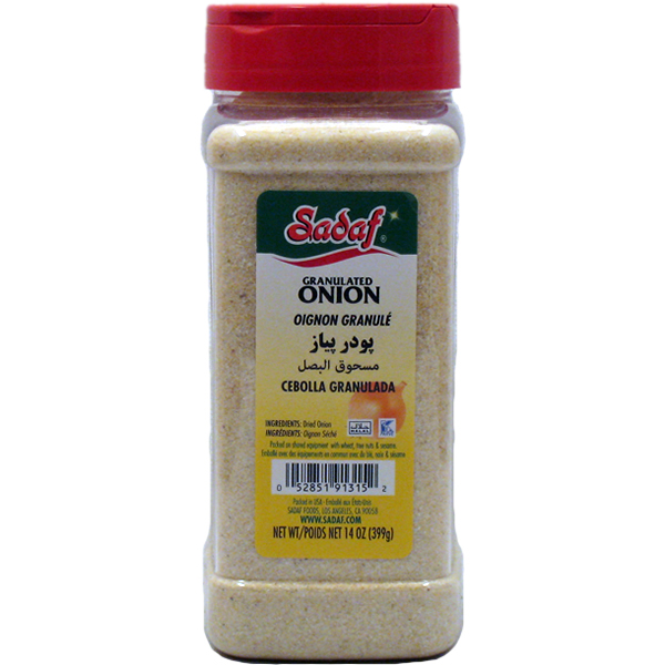 Sadaf Onion Granulated 14 oz.
