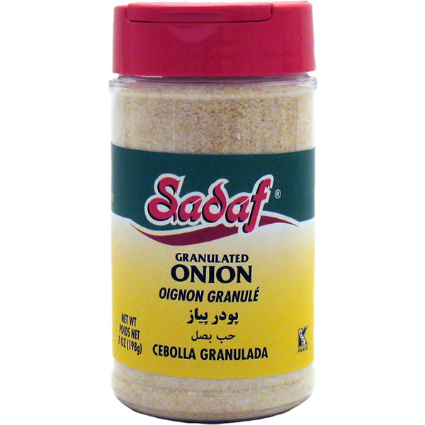 Sadaf Onion Granulated 7 oz.