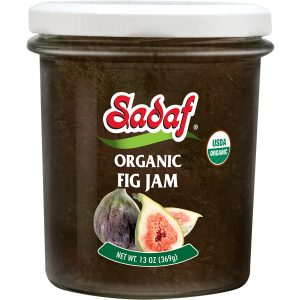 Sadaf Organic Fig Jam 13 oz.