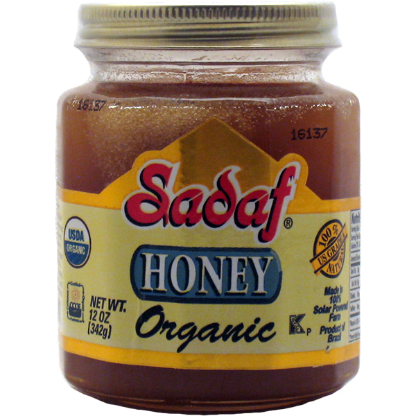Sadaf Organic Honey 12 oz.