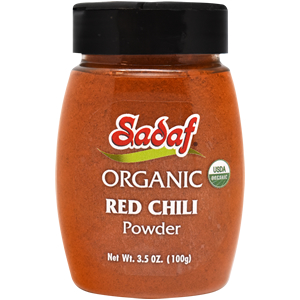 Sadaf Organic Red Chili 3.5 oz