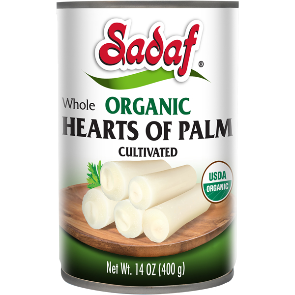 Sadaf Organic Whole Heart of Palm 14 oz