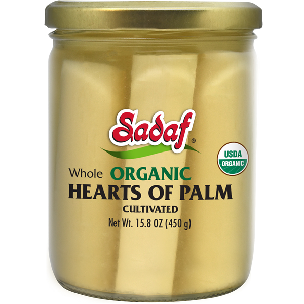 Sadaf Organic Whole Heart of Palm 15.80 oz