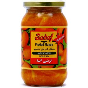 Sadaf Pickled Mango - Anbeh Torshi 14.8 oz.