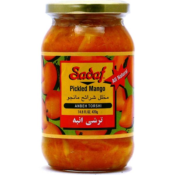Sadaf Pickled Mango - Anbeh Torshi 14.8 oz.