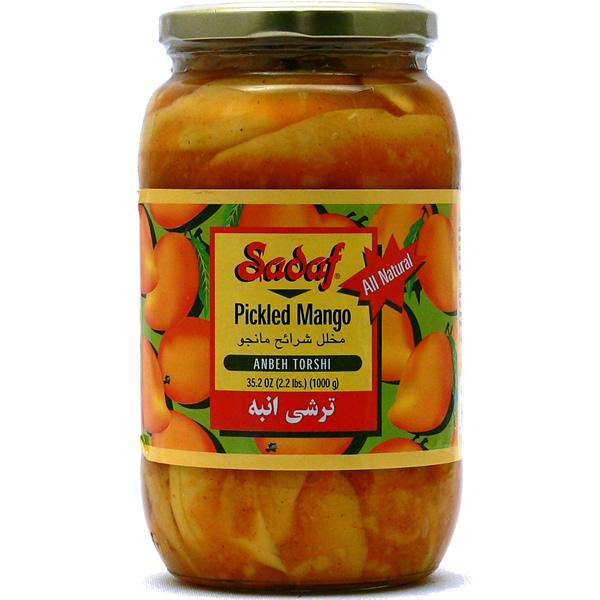 Sadaf Pickled Mango - Anbeh Torshi 35.2 oz.