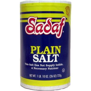 Sadaf Plain Salt 26 oz.