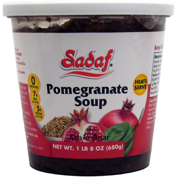 Sadaf Pomegranate Soup - Ash-e Anar 24 oz.