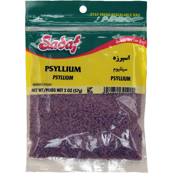 Sadaf Psyllium Seeds, Esparzeh, 2 oz.