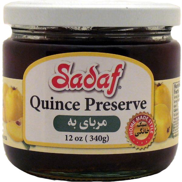 Sadaf Quince preserve 12 oz.