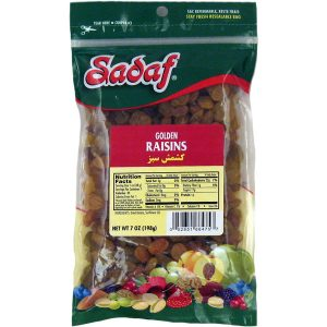 Sadaf Raisins Golden 7 oz.
