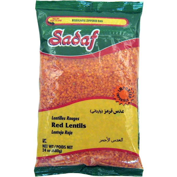 Sadaf Red Lentils 24 oz.