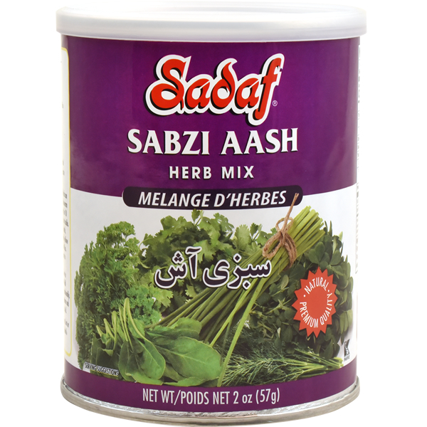 Sadaf Sabzi Aash - Dried Herbs Mix SDF 2 oz.