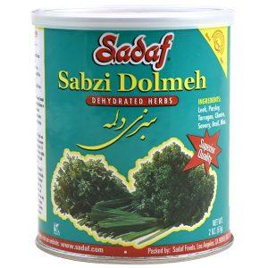 Sadaf Sabzi Dolmeh - Dried Herbs Mix SDF 2 oz.