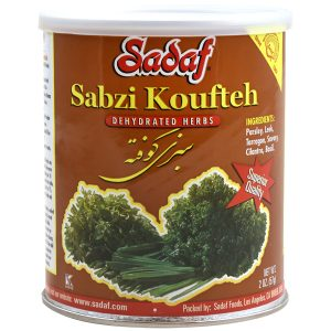 Sadaf Sabzi Koufteh - Dried Herbs Mix SDF 2 oz.