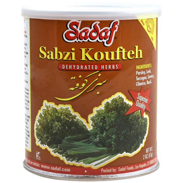 Sadaf Sabzi Koufteh - Dried Herbs Mix SDF 2 oz.