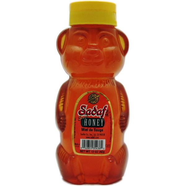 Sadaf Sage Honey Bear 12 oz.