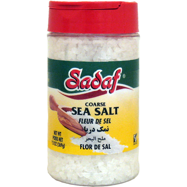 Sadaf Sea Salt Coarse 13 oz.