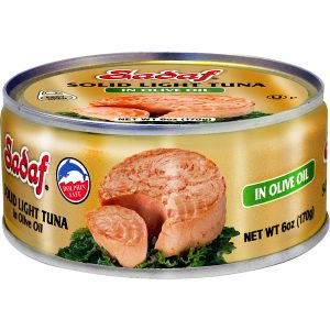 Sadaf Solid Light Tuna in Olive Oil - Easy Open 6 oz.