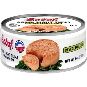 Sadaf Solid Light Tuna in Vegetable Oil - Easy Open 6 oz.