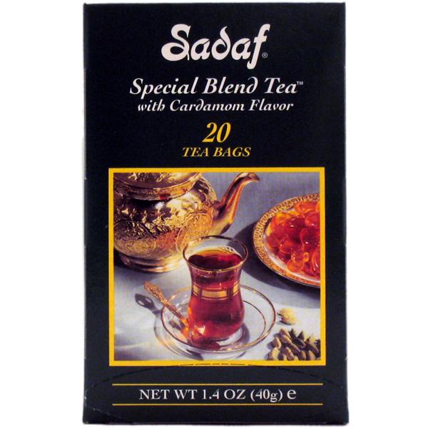 Sadaf Special Blend Tea Cardamom in Foil 20 T/B