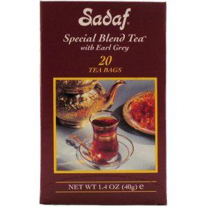 Sadaf Special Blend Tea Earl Grey 20 Tea Bags Foil