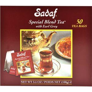 Sadaf Special Blend Tea Earl Grey 50 Tea Bags