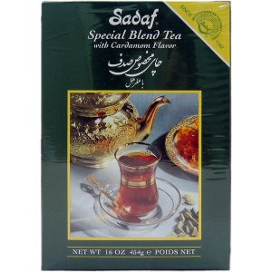 Sadaf Special Blend Tea with Cardamom 16 oz.